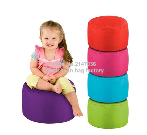 Outdoor and indoor Cube bean bag pouf ottomans