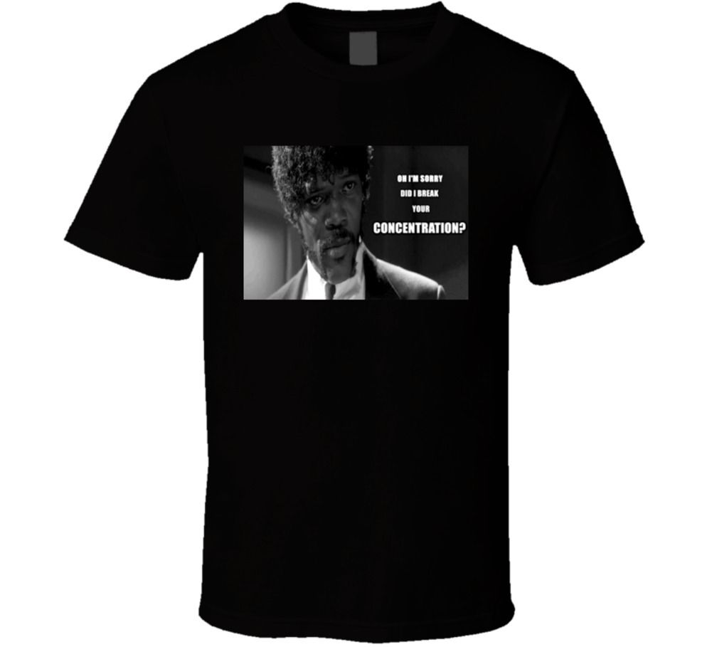 Pulp Fiction Samuel Jackson Classic Movie T shirt