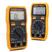 Mini DC/AC Digital multimeter LCD display Resistance Capacitance Tests High Precision Anti-burn Electrical Instruments цена в Москве и Питере
