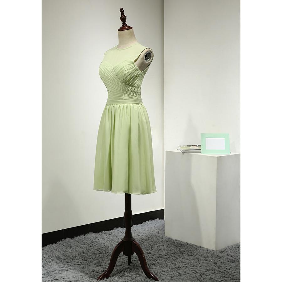 Erfreut Salbei Brautjungfer Kleid Bilder - Brautkleider Ideen ...