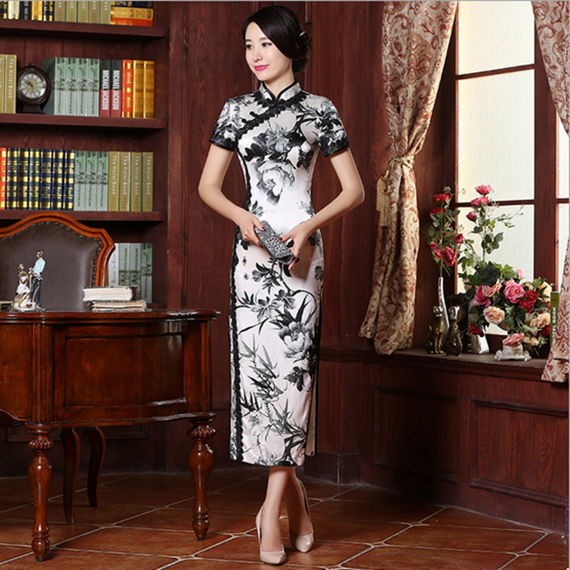 Kleid seide china