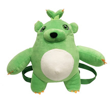 Super Cute Soft Green Teddy Bear Plush Toy Backpack Girls and Boys Baby Girl Bags Kids Toys Latest Style Small Capacity