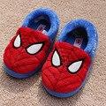 2016 novas crianças sapatos da moda menino algodão chinelo crianças sapatos slip on toe rodada homens ceia caçoa as sapatilhas