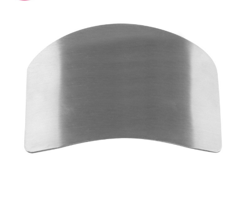 Kitchen Gadgets Finger-Protector Vegetable Anti-Cut Stainless-Steel Hand-Guard-80 Security