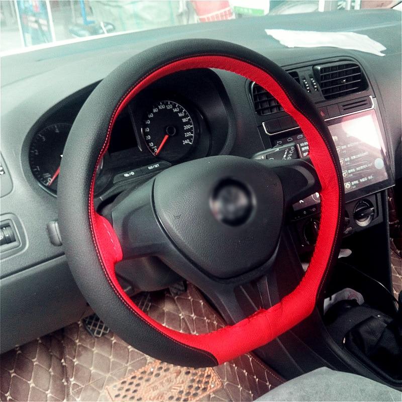 CNIKESIN Volant Universellement 38CM Guidage Tresse Couvre volant - Accessoires intérieurs de voiture - Photo 6