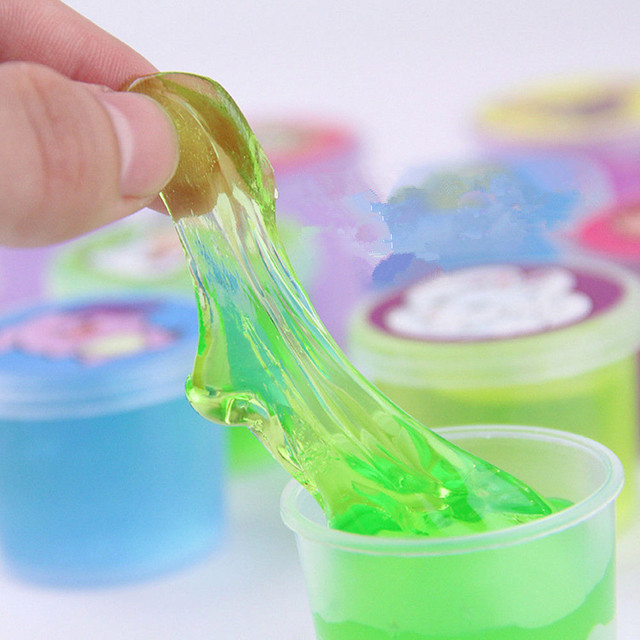CHAMSGEND funny Creative Clay Slime DIY Crystal Mud Play ...