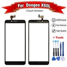 """5,"""" дюймов Для Doogee X60L сенсорный экран дигитайзер панель сенсор для X60L touch X60 L Doogee X60 L touch+ Инструменты"""