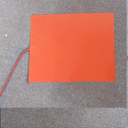 150 x 150mm 110W 220V Wholesale Silicone Rubber Heater with thermistor Heating Element 3D printer heating bed silicone heating dia 400mm 900w 120v 3m ntc 100k round tank silicone heater huge 3d printer build plate heated bed electric heating plate element