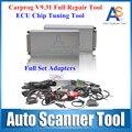 Universal Carprog V9.31 Programmer Radios Odometers Dashboards Immobilizers Full 21 Adaptors Car Prog Repair Airbag Reset Tools