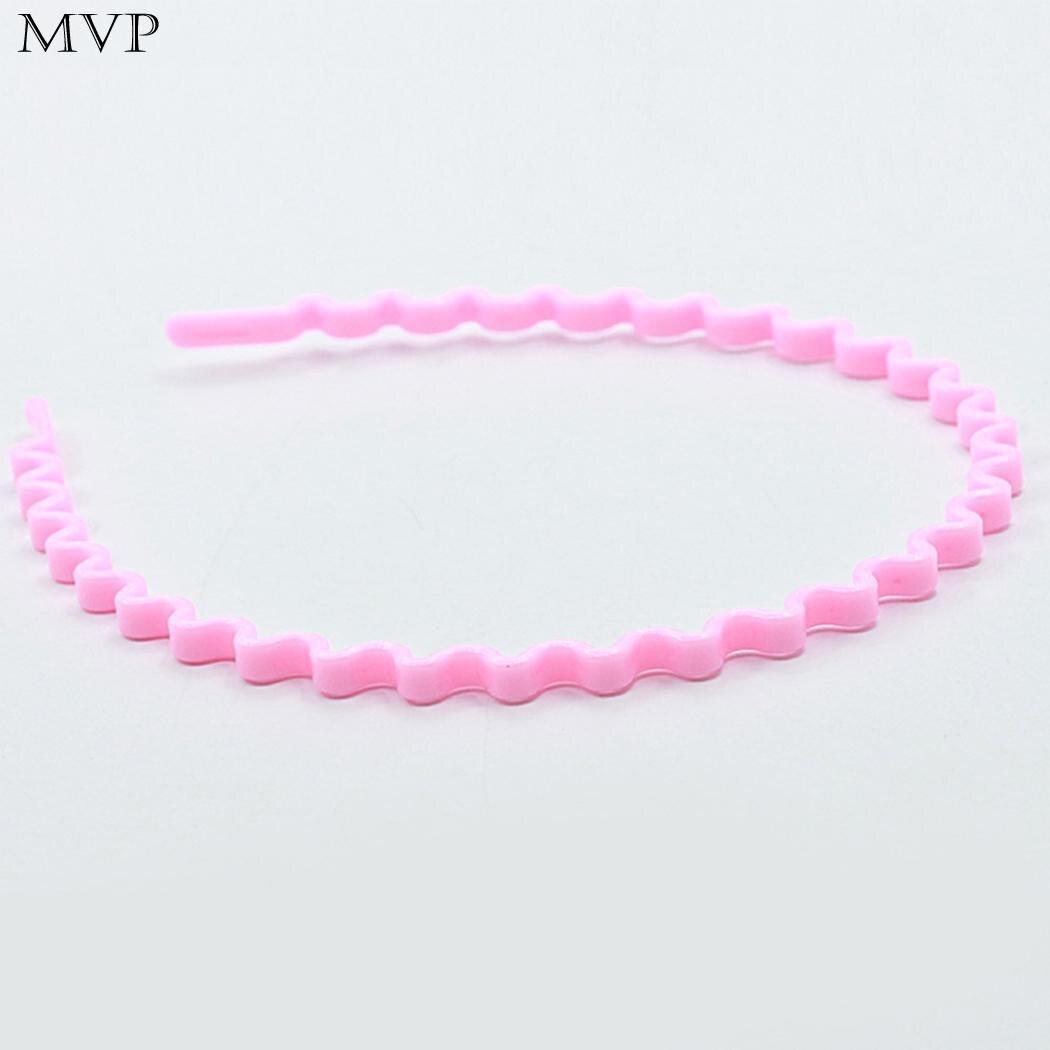 Plastic Women Wavy Hair Head Hoop Fashion Headband Hair Accessories
