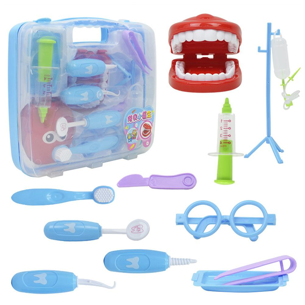 LeadingStar Children Play-house Game Doctor Nurses Dentists Role Play Game SuitcaseToy Set zk30 ...