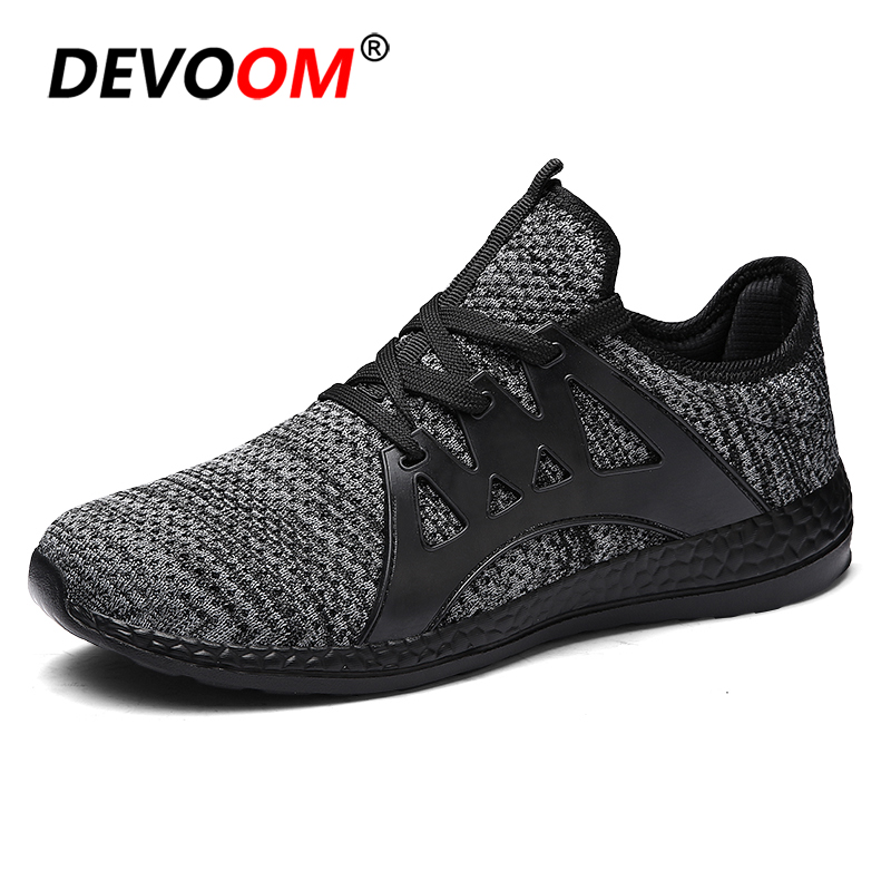 Hot Sale Brand Sneakers Men Quality Fashion Men's Ultra Lightweight Breathable Mesh Street Walking <font><b>Shoes</b></font> Casual Sneakers 36 - 47 image