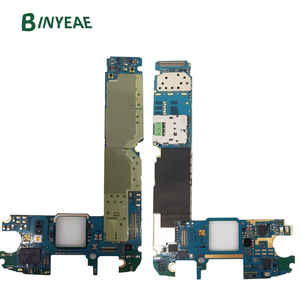 BINYEAE Original G920F Unlocked Main Motherboard 32GB Replacement For Samsung Galaxy S6 G920F Android 6.0 or 7.0 Clean Imei