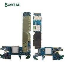 BINYEAE оригинальная G920F разблокированная основная материнская плата 32 Гб Замена для Samsung Galaxy S6 G920F Android 6,0 или 7,0 чистая Imei