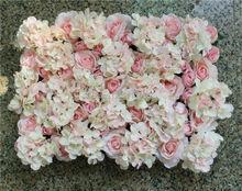 SPR Light pink 10pcs/lot Artificial Hydrangea rose flower wall wedding party decorations backdrop road lead market flore