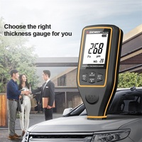 SNDWAY SW 6310A Width Measuring Instruments Digital Thickness Gauge Paint Film Coating Thickness Gauge Tester