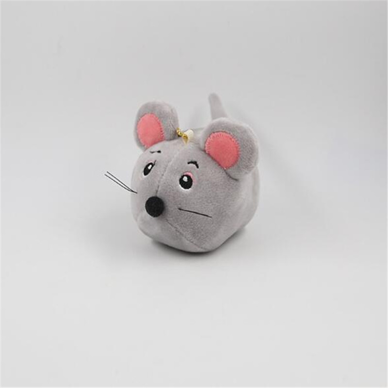 1PCS Mini Mouse Plush Toys Small Pendant Creative Round Mice Crystal Soft Stuffed Toy Activities Gifts For Kids Girlfriend 9CM in Stuffed Plush Animals from Toys Hobbies