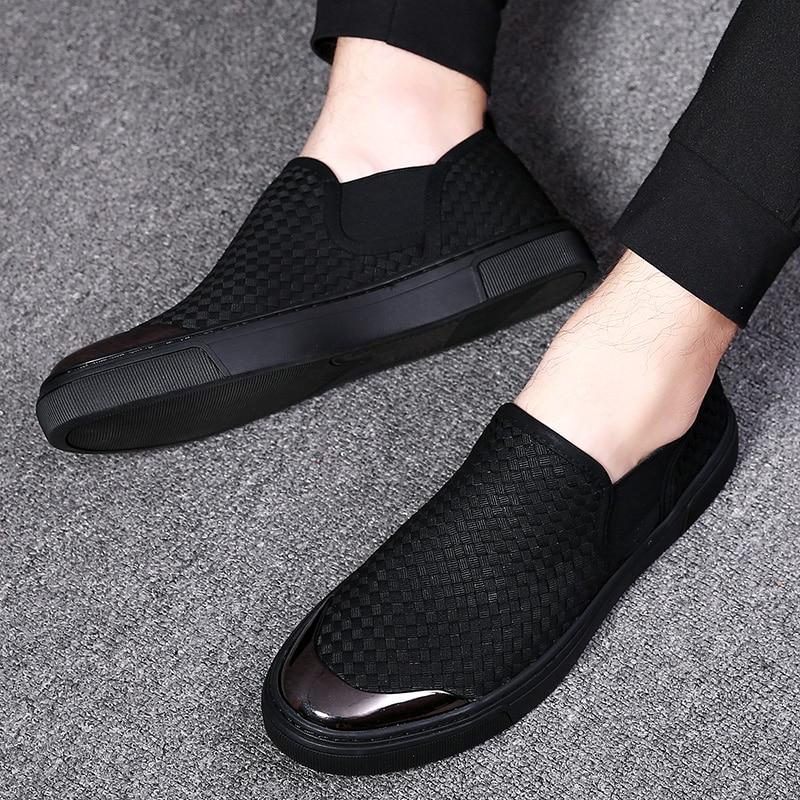 Zapatillas Los De Mycolen Negro 2019 Moda Verano Alpargatas Nuevos on Primavera Hombres Slip Cómodos Casuales La Lona Zapatos SZwgEqw