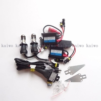 HID Xenon Conversion Kit AC 12V 55W H4 9004 9007 H13 BI Xenon Lamp Slim Ballast