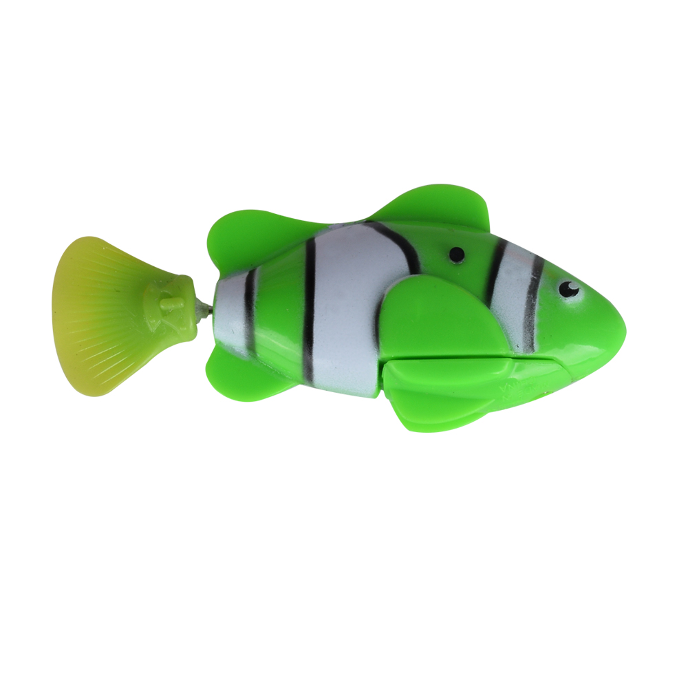 submarine RC Swim Electronic Robofish Toys Activated Battery Powered Robo Toy fish Robotic Pet for Fishing