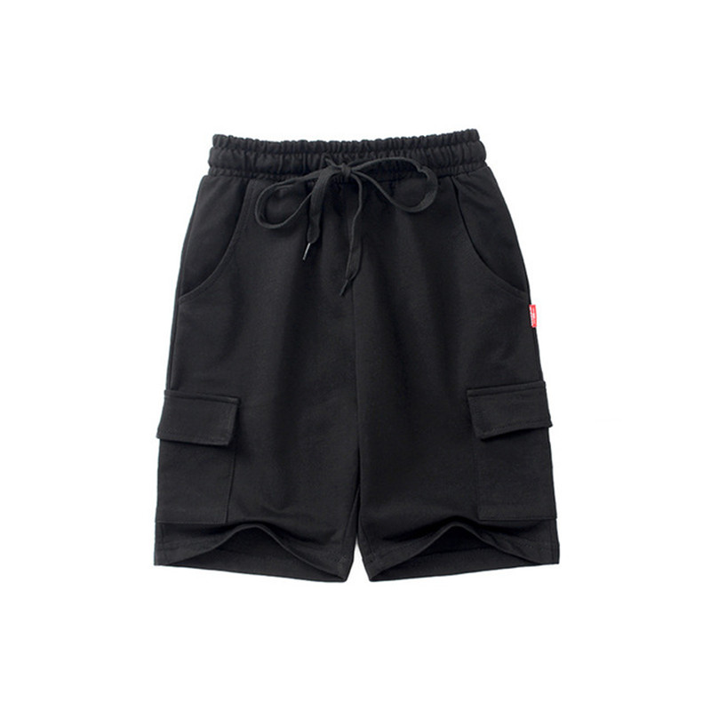VIDMID chidren's clothes boys shorts solid thin cotton baby boy beach shorts for kids big boys casual trousers 4102 09 5