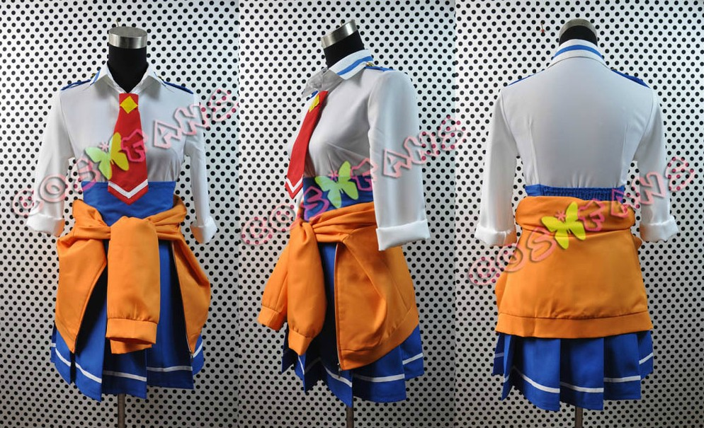 Free shipping Custom Cheap Hino Cosplay costume from Smile PreCure