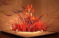 Zhongshan Fábrica de Iluminação Especial Bela Escultura De Vidro Art Deco Escultura De Vidro Soprado para o Projeto Do Hotel|sculpture art|sculpture beautysculpture glass -