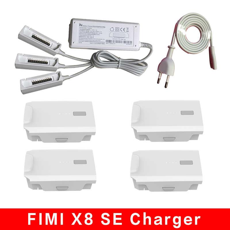 FIMI X8 SE Battery Charger Hub Intelligent Muiti-charging Batteries for FIMI X8 SE RC Drone Quadcopter