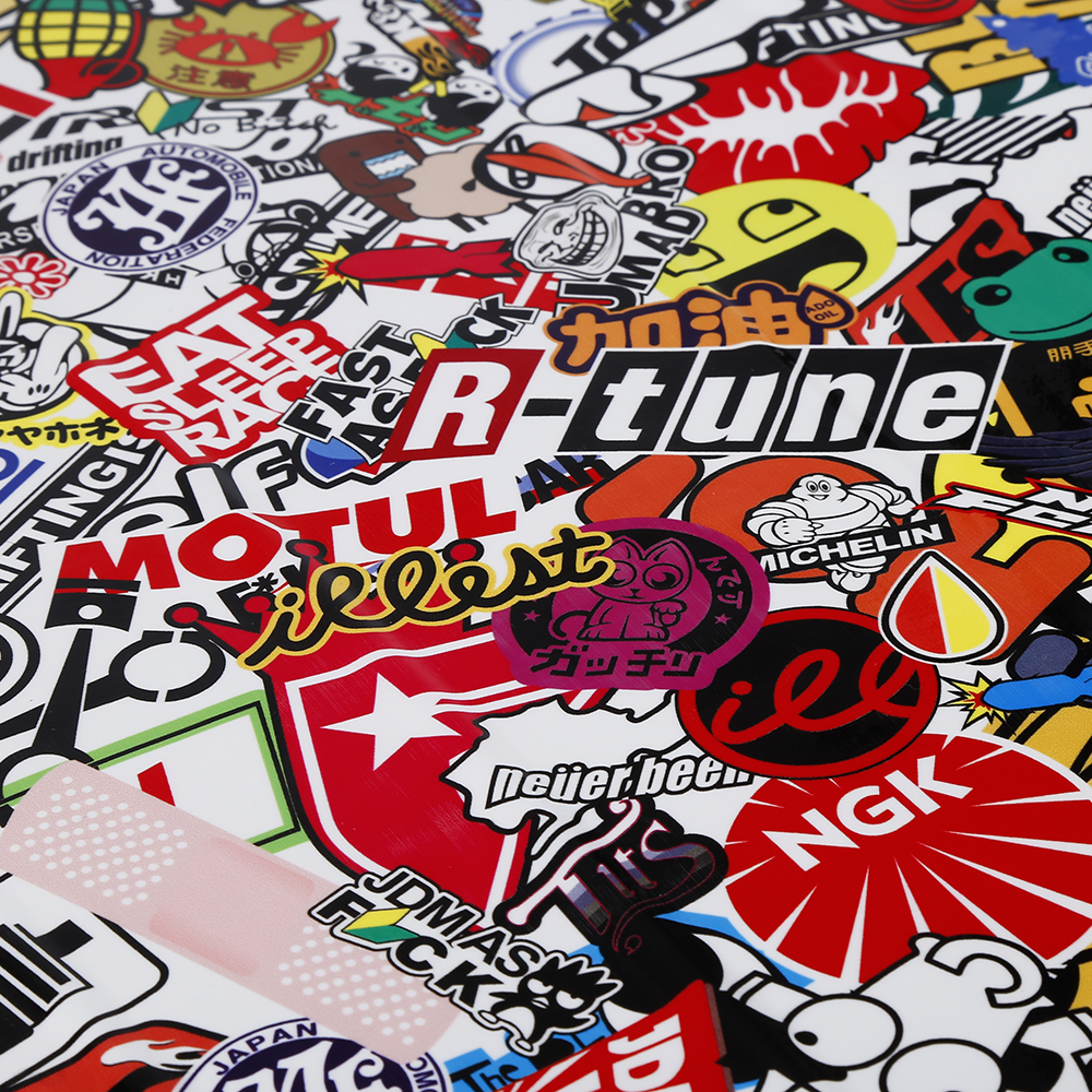 Styling mobil sticker bom mobil sticker untuk skateboard snowboard motor sepeda laptop sticker bomb graffiti mobil meliputi accessorie di mobil stiker dari