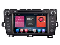 Android CAR Audio DVD Player FOR TOYOTA PRIUS Gps Car Multimedia Head Device Unit Receiver Support