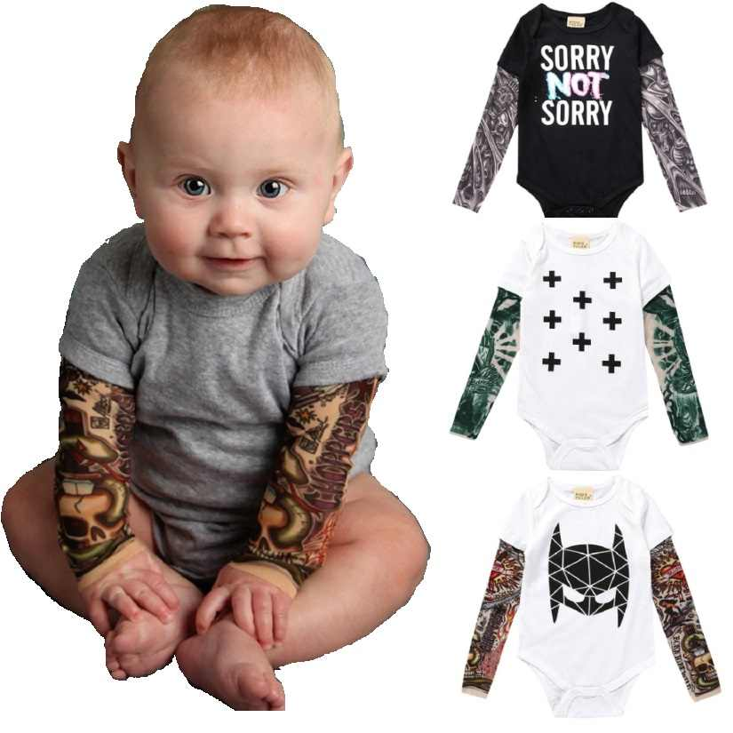 Detail Feedback Questions about Tattoo Baby Clothes Long Sleeve ...