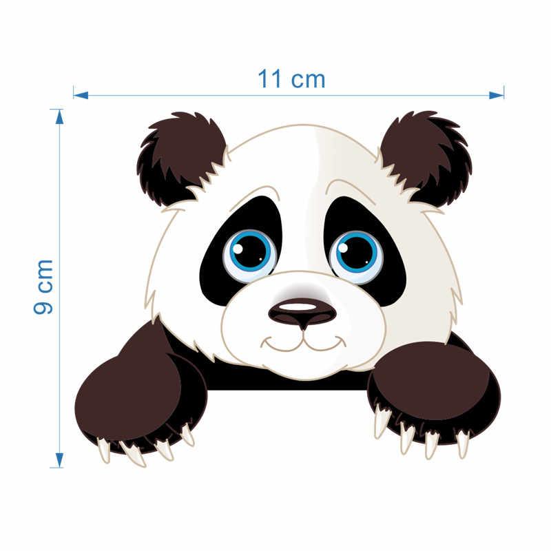 귀여운 동물 코끼리 고양이 팬더 기린 라이트 스위치 스티커 아이들을위한 이동식 벽 스티커 아기 보육 홈 데칼 murla 장식