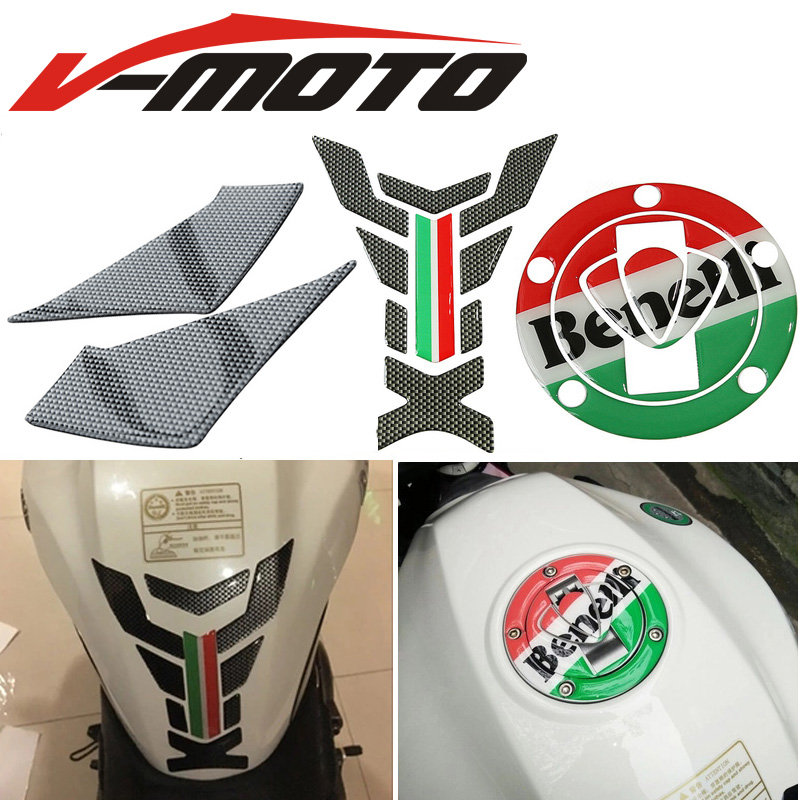Refitting membrane oil tank For Benelli <font><b>BJ600</b></font> <font><b>BN600</b></font> motorcycle to protect fishbone side scratch resistant waterproof sticker image