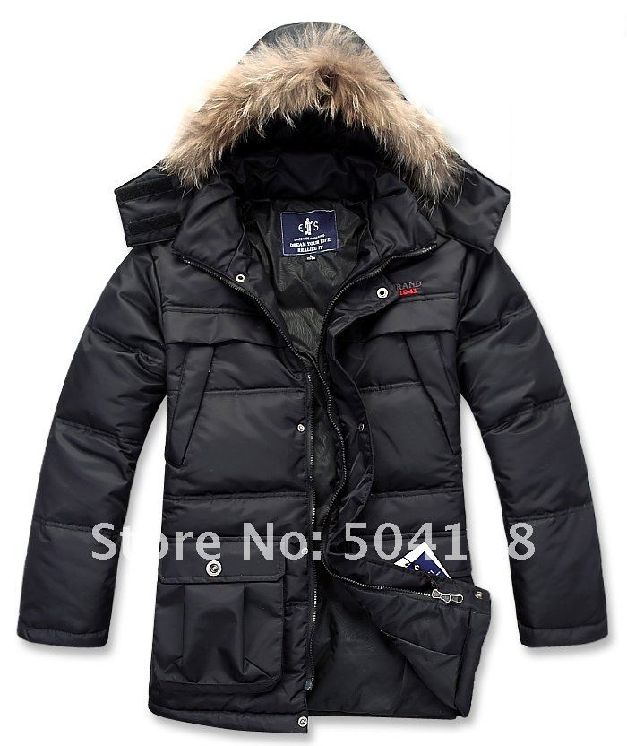 Mens Warm Winter Jackets - Coat Nj
