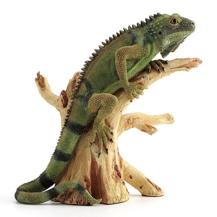 손 조각 삽화 영국 디자이너 작은 도마뱀 등반 나무 현실적인 동물 장식 홈 가구 휴일 선물-에서동상 & 조각품부터 홈 & 가든 의  그룹 1