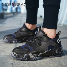 Big Size 39-46 Men Sneakers Super Light Running Shoes Lace Up Breathable Camouflage Shoes Men Outdoor Sport Sneakers For Male цена и фото