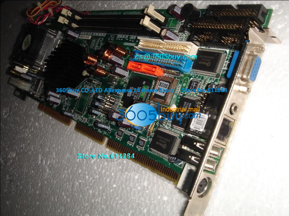 Industrial Control Board ROCKY-6612 100% tested perfect quality Integrate CPU Graphics industrial board rocky 518hv v4 1 well tested working