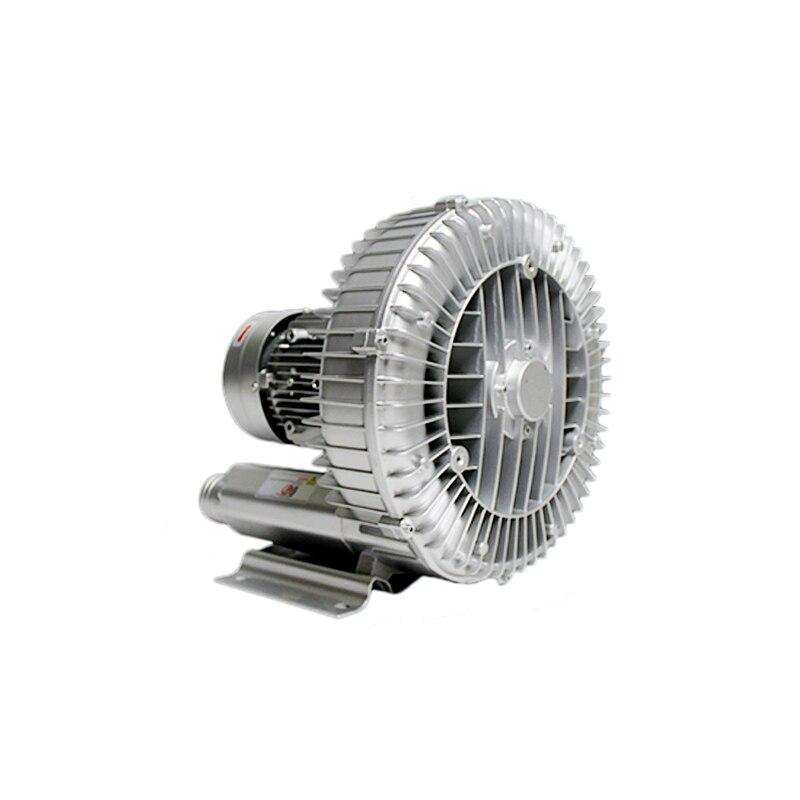 550W Industrial High Pressure Vortex Vacuum Pump 220V 1PH Dry Air Blower for Industrial Machine