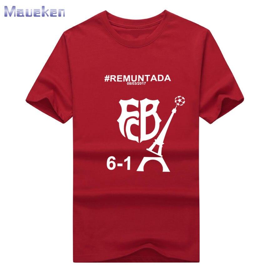 2017 men 39 s barcelona 6 1 remuntada century funny t shirt for Silly shirts for men