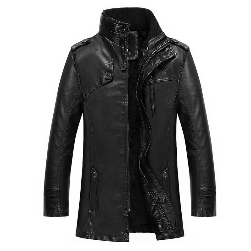Online Get Cheap Leather Trench Coats Men -Aliexpress.com ...