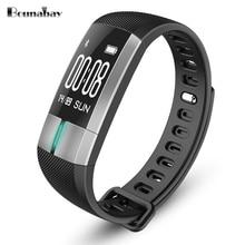 BOUNABAY Bluetooth Inteligente Pulsera deportivo reloj para mujeres de las señoras originales shockesportivo ios Android señora de las mujeres relojes a prueba de agua