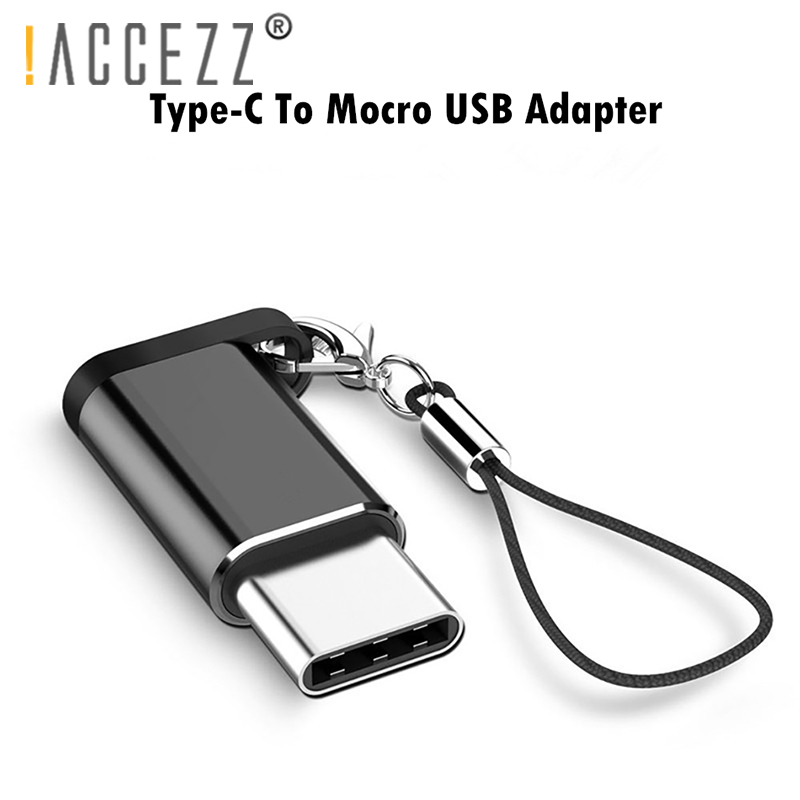 !ACCEZZ 5PCS Type C Adapter Male Micro USB Female Cable USB-C OTG For Huawei P20 Samsung S9 Data Sync Charger Adapters Connector