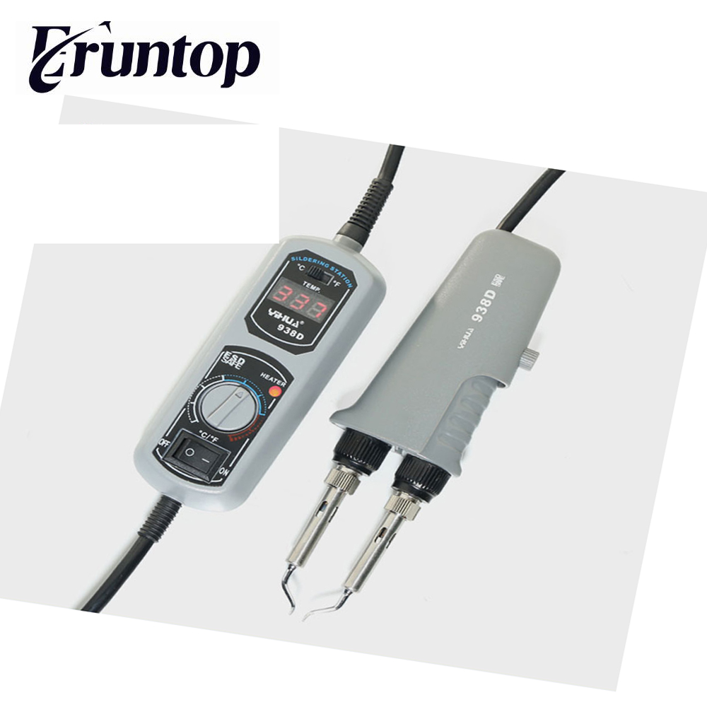 YIHUA 938D electric iron soldering station thermostat Pocket mini iron soldering station цена
