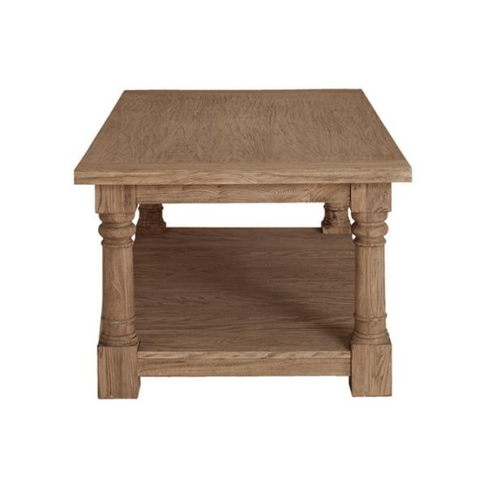 American Country Wood Furniture Recovery Pine Coffee Table Solid Wood Coffee Table Minimalist Creative