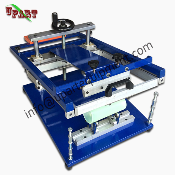 plastic bottles screen printing machine silk screen printing for round products цены