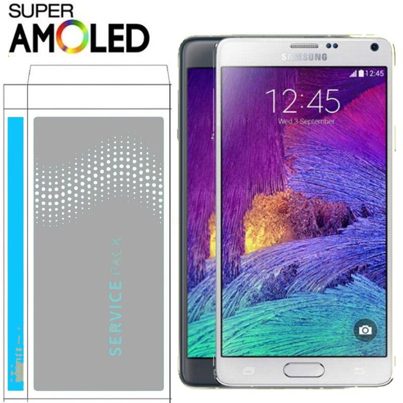 100 ORIGINAL 5 7 LCD for SAMSUNG Galaxy Note 4 Note4 N910 N910C N910A N910F Display