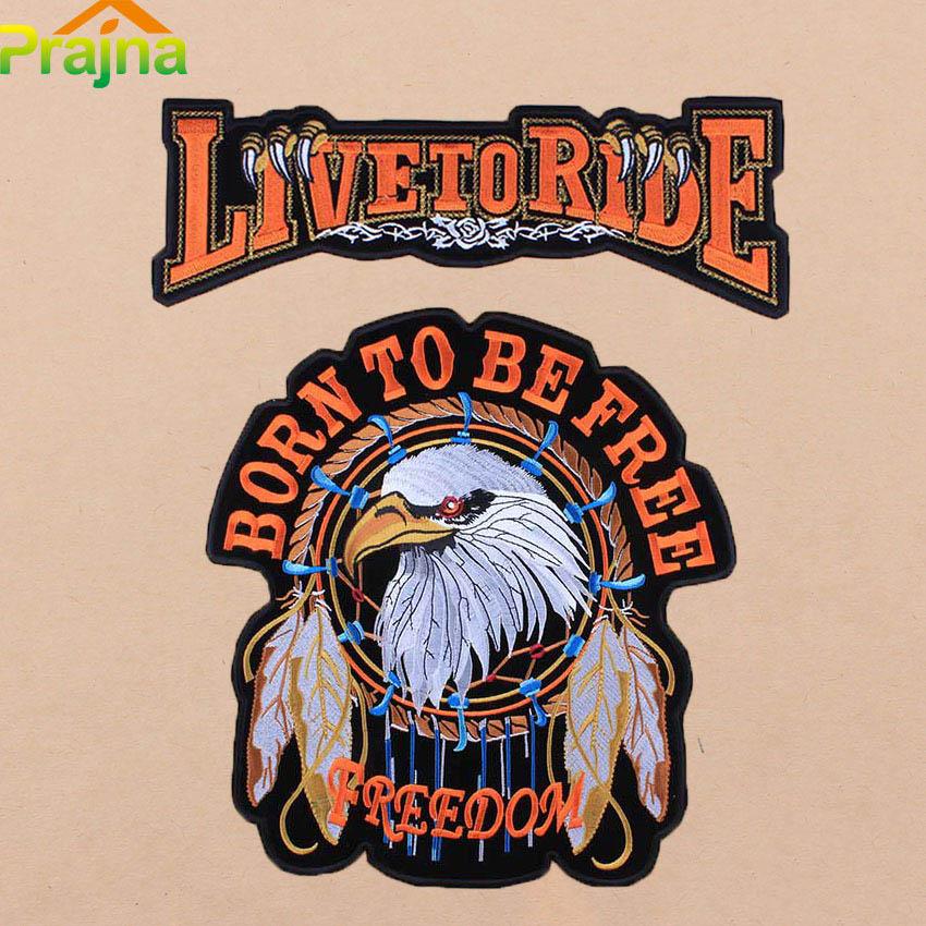 patch motorcycle biker