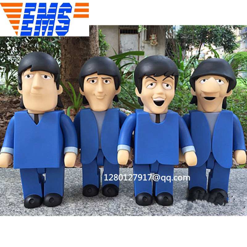4 PCS/set Bearbrick Be@rbrick Gloomy Bear BB 400% Personality Vinyl Action Figure Collectible Model Toy 28CM BOX P1222