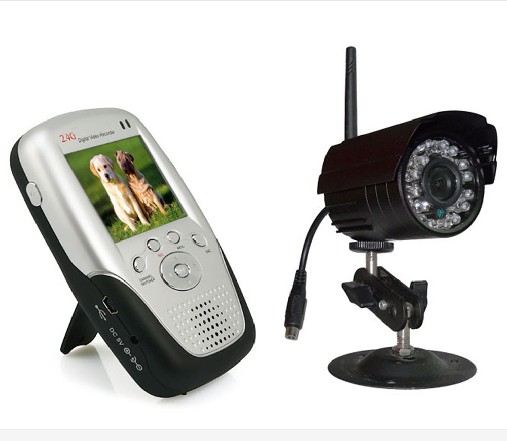 Wireless Baby Camera Water-Proof Outdoor 2.4Ghz Wireless Baby Monitor