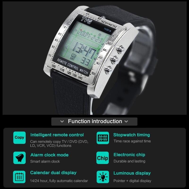 TVG Mode Mannen Sport Horloges Smart Remote Militaire Horloge LED - Herenhorloges - Foto 4